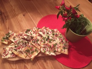 Flammkuchen - Low Carb