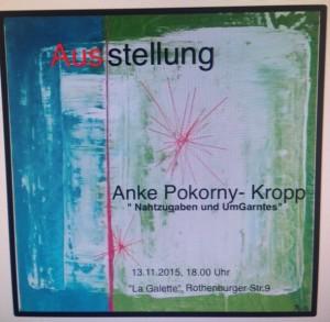 Ausstellung Anke