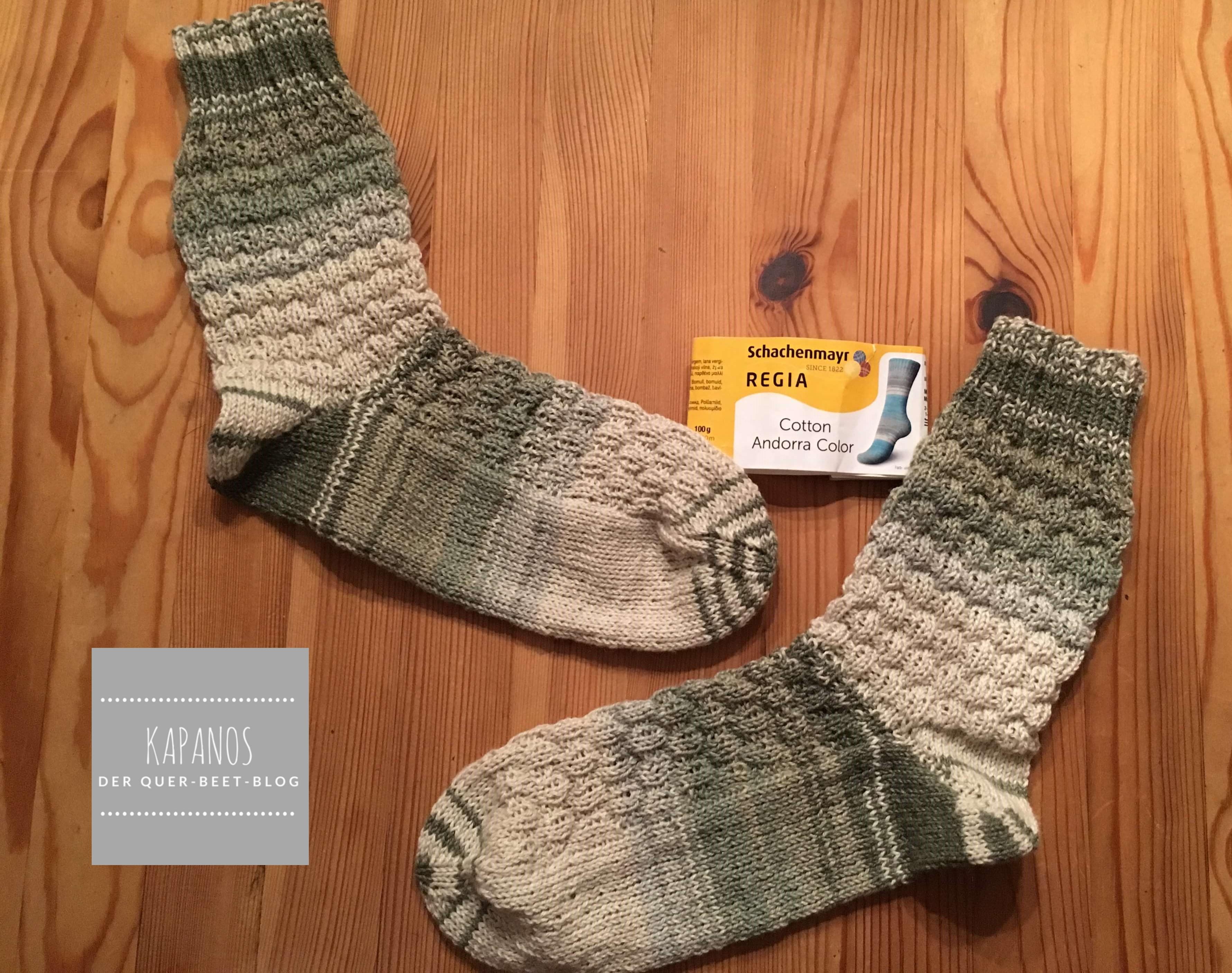Gestrickt Socken Stricken Sockenparade Kapanos